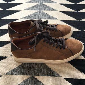 Frye Men's Suede Sneaker Size 11 Worn 5x